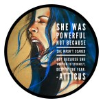 Atticus Sticker Large