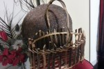 Handcrafted Primitive Rectangular-Oval Basket Twig