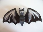 Bat 3d ornament