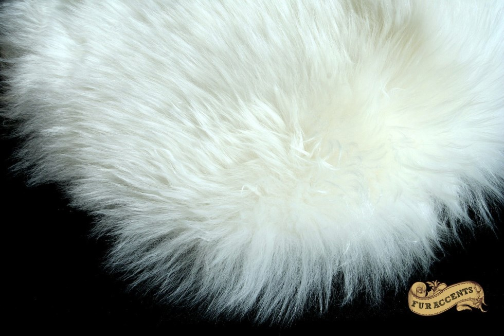 white faux sheepskin rugs