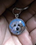 Handpainted Pet Memorial Pendant-Pet Loss