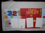 Happy Birthday 12x12 Premade pages